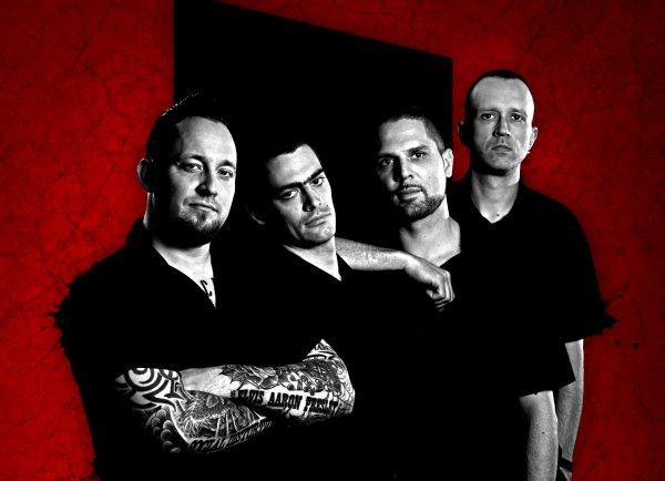3591x2600 high res shot of Danish metal band Volbeat.